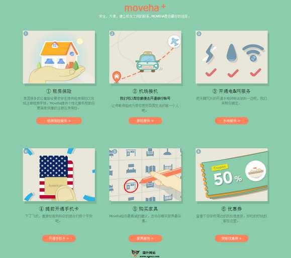 【经典网站】MoveHa:国际学生租房预定平台