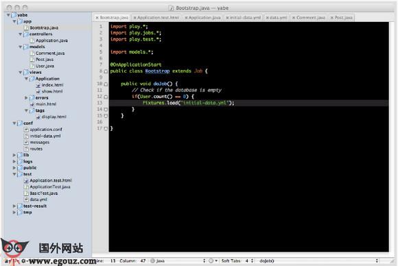 【经典网站】PlayFrameWork:Java Web应用框架开发平台