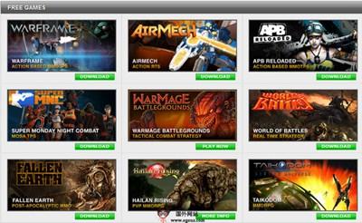 【经典网站】美国GamersFirst游戏开发网