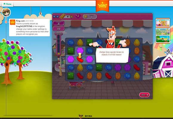 【经典网站】CandyCrush:糖果粉碎传奇游戏官网