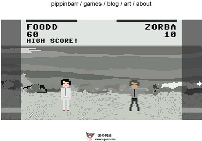 【经典网站】PipPinBarr:在线创意思维游戏网
