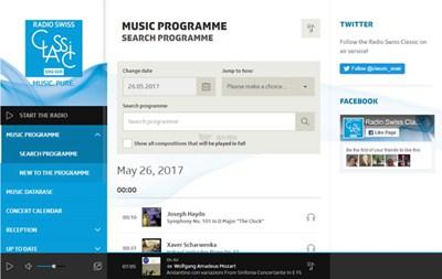 【经典网站】瑞士古典音乐广播电台