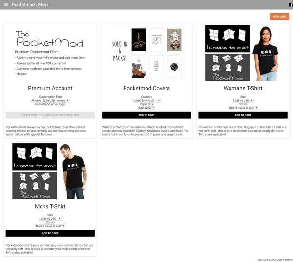 【工具类】Pocketmod|自定义A4口袋笔记本模版
