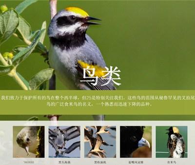 【经典网站】AbcBirds:美国鸟类保护协会