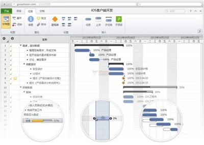 【工具类】雁阵 在线项目进度管理工具