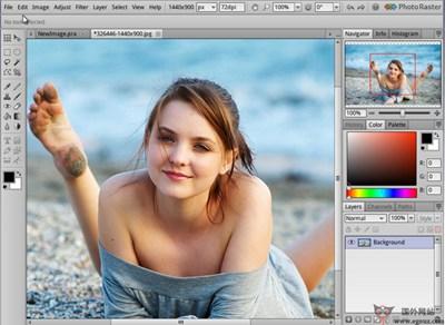【工具类】PhotoRaster:在线免费图片编辑美化工具