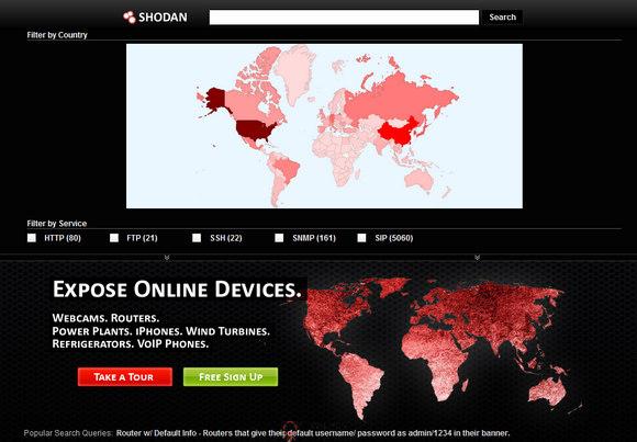 【经典网站】Shodan:互联网信息安全搜索引擎