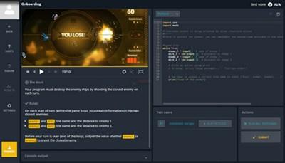 【经典网站】CodinGame|游戏化编程教学平台