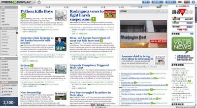 【经典网站】PressDisplay:世界知名报纸导读大全