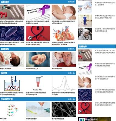 【经典网站】NewMedical|新医学健康新闻资讯网
