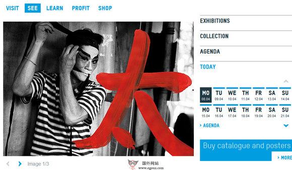 【经典网站】KunstMuseumbern:瑞士伯尔尼美术馆