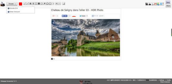 【工具类】Webpage Screenshot:网页快照抓取编辑工具