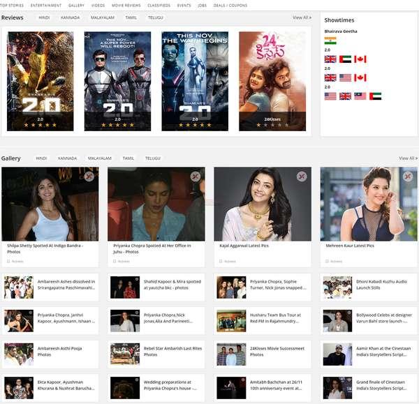 【经典网站】Xappie|印度本土影视娱乐平台