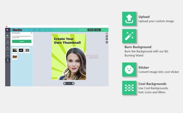 【工具类】PicMaker|在线免费油管缩略图设计工具