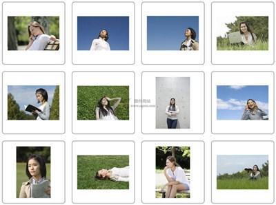 【素材网站】ModelFoto||日本免费模特素材库
