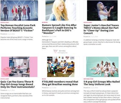 【经典网站】Koreaboo:韩国明星娱乐资讯网
