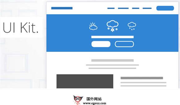 【素材网站】GumbyFrameWork:响应式Web UI框架