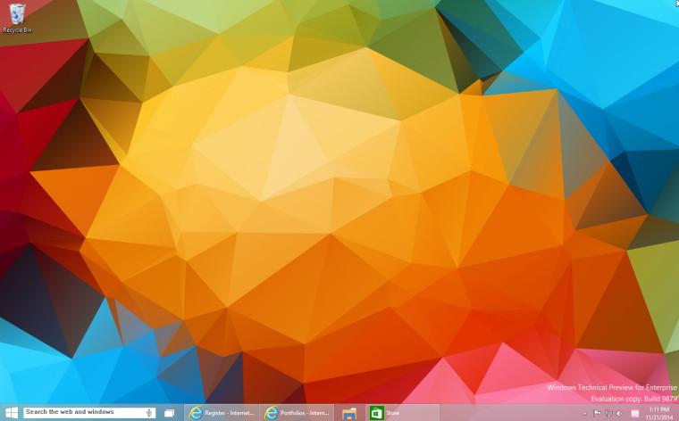 【数据测试】Windows 10 build 9879纯净安装版ISO镜像下载