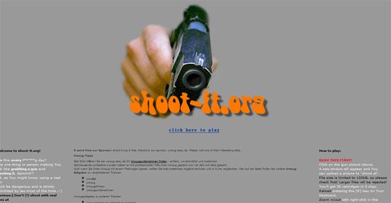 【数据测试】shoot-it:射它!看谁不爽就射他