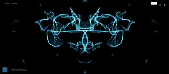 【数据测试】唯美梦幻抽象的在线涂鸦:silk