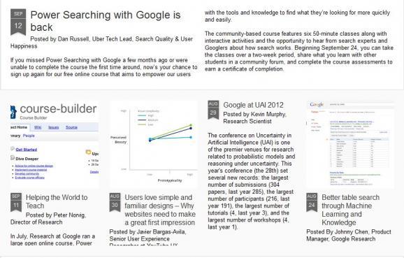 【数据测试】[视频]Google推在线开放式教程