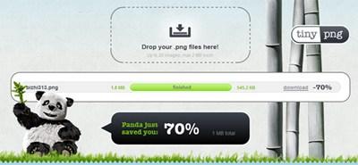 【数据测试】在线批量压缩PNG图片,压缩率高达70% – Tinypng