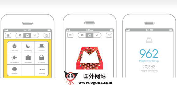 【工具类】MailBox:代办事项邮件应用工具