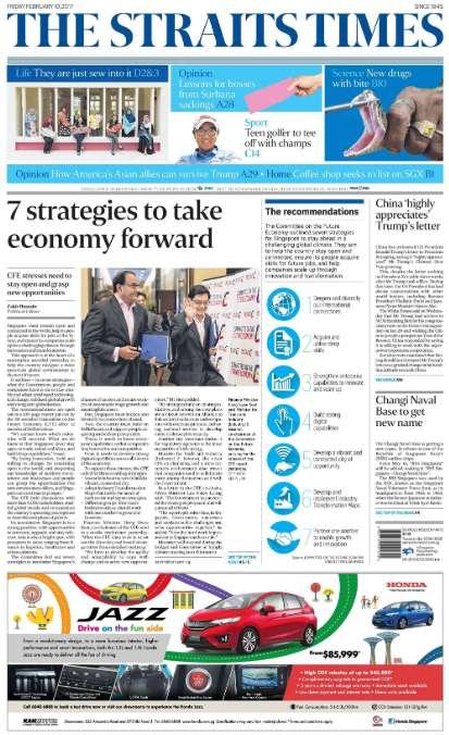 【经典网站】StraitsTimes:新加坡海峡时报