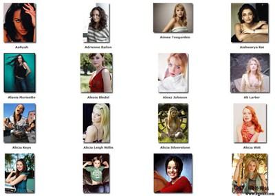 【素材网站】CeleBszz:世界名人图片素材下载站