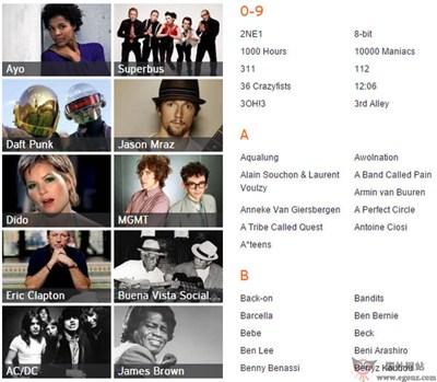 【经典网站】MyCoverMusic:我的音乐封面网