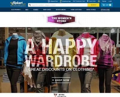 【经典网站】FlipKart:印度电子商务零售平台