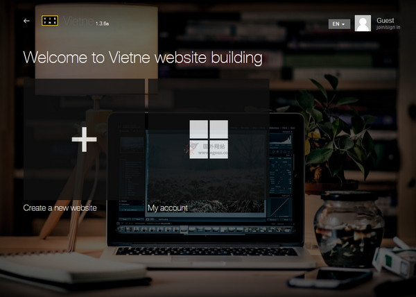 【经典网站】Vietne:国外免费简单建站平台