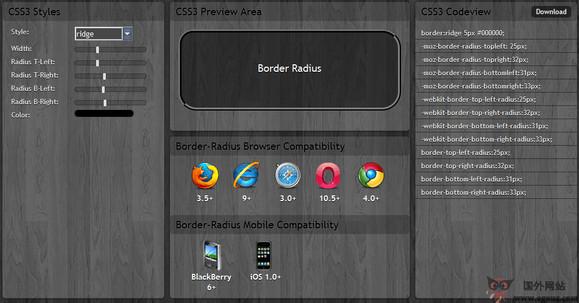 【工具类】Css3Maker:在线网页CSS样式编辑工具