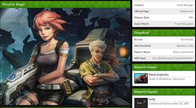 【经典网站】IndieDB:独立游戏开发发布平台