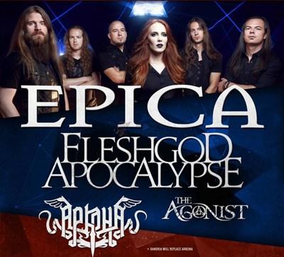 【经典网站】Epica|暗黑史诗交响金属乐队