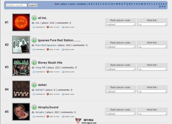 【经典网站】UnsignedBandWeb:免费乐队音乐分享网