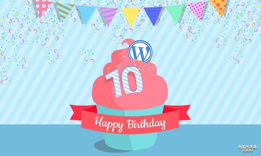 【Wordpress相关】WordPress 10周年信息图