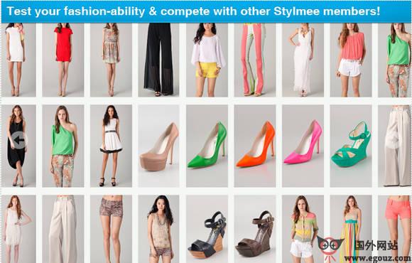 【经典网站】StylMee:在线购物分享平台