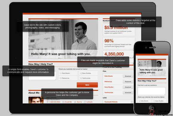 【经典网站】CrushPath:销售业务跟踪服务平台