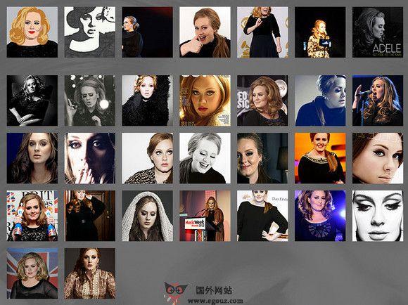 【经典网站】Adele:阿黛尔·阿德金斯个人官网