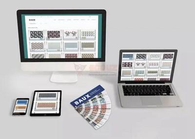【素材网站】Baux 彩色隔音板图案库