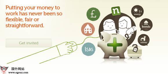 【经典网站】Nutmeg:大众式网络投资管理平台