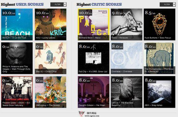 【经典网站】Streamr.eu:独立音乐新专辑指南网