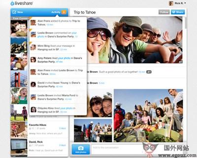 【工具类】LiveShare:实时多媒体资源分享应用