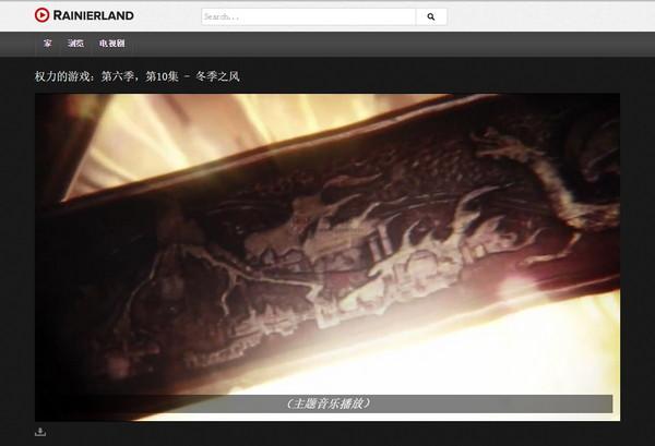 【经典网站】RainierLand:最新美剧直播网
