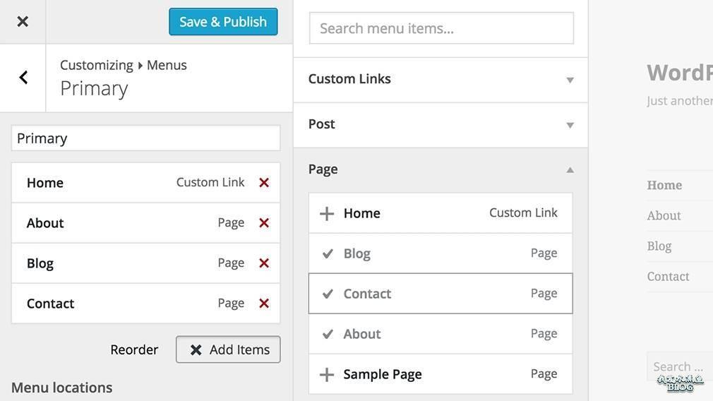 【Wordpress相关】WordPress 4.3 发布:可以更方便自定义菜单