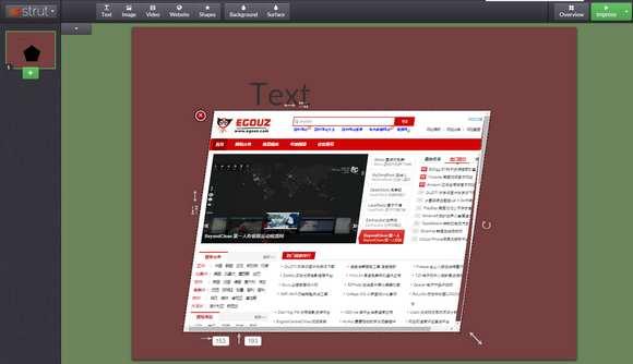 【工具类】Strut.io:在线简报可视化制作工具