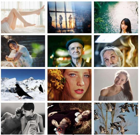 【经典网站】BeautifulPhoto:在线随机美图和音乐分享网