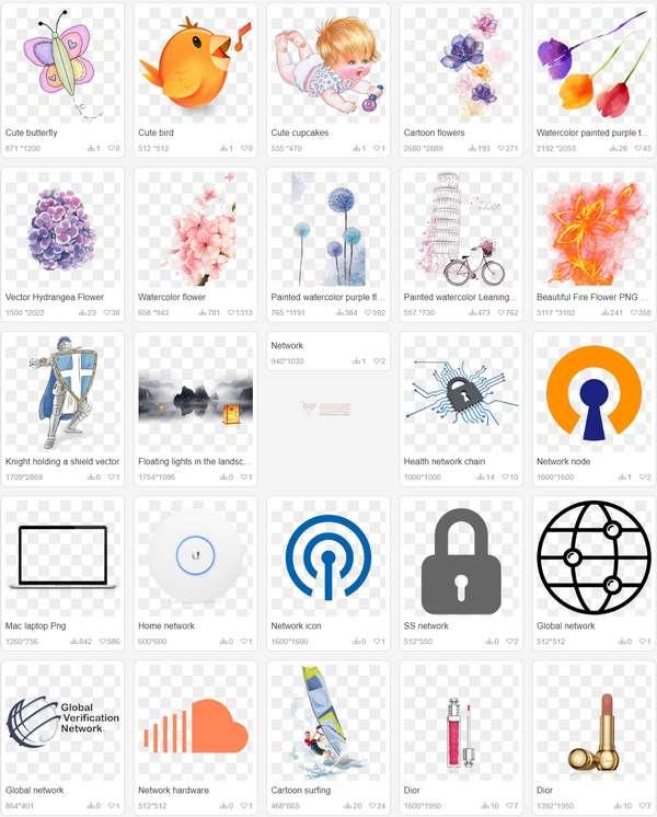 【素材网站】Iccpic|免费PNG设计素材资源网