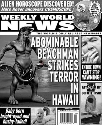 【经典网站】WeeklyWorldNews:世界离奇新闻周刊